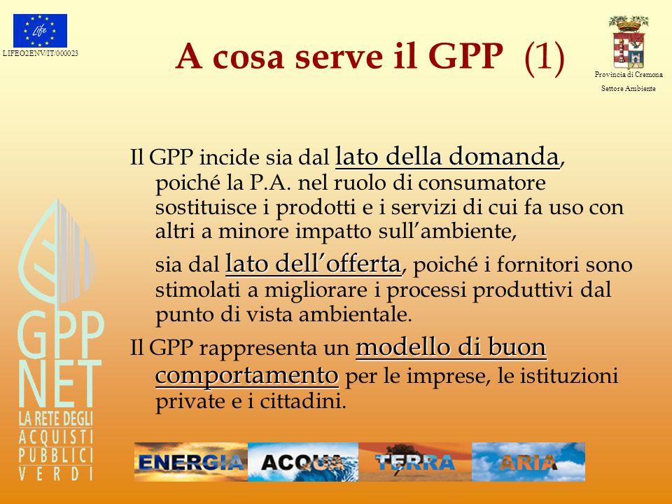 A cosa serve il GPP (1)