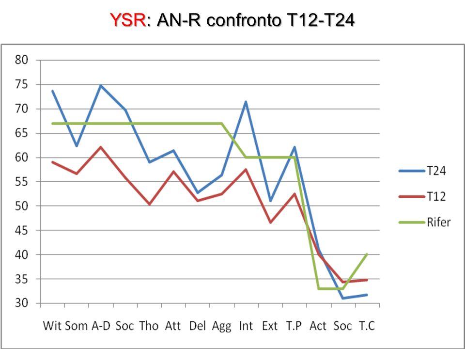 YSR: AN-R confronto T12-T24
