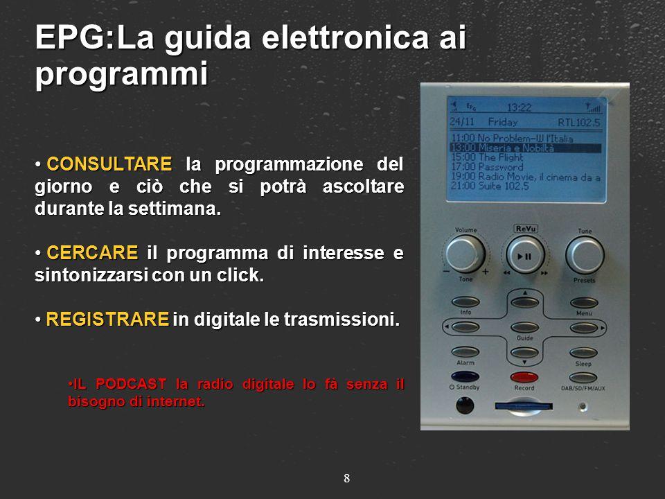 EPG:La guida elettronica ai programmi