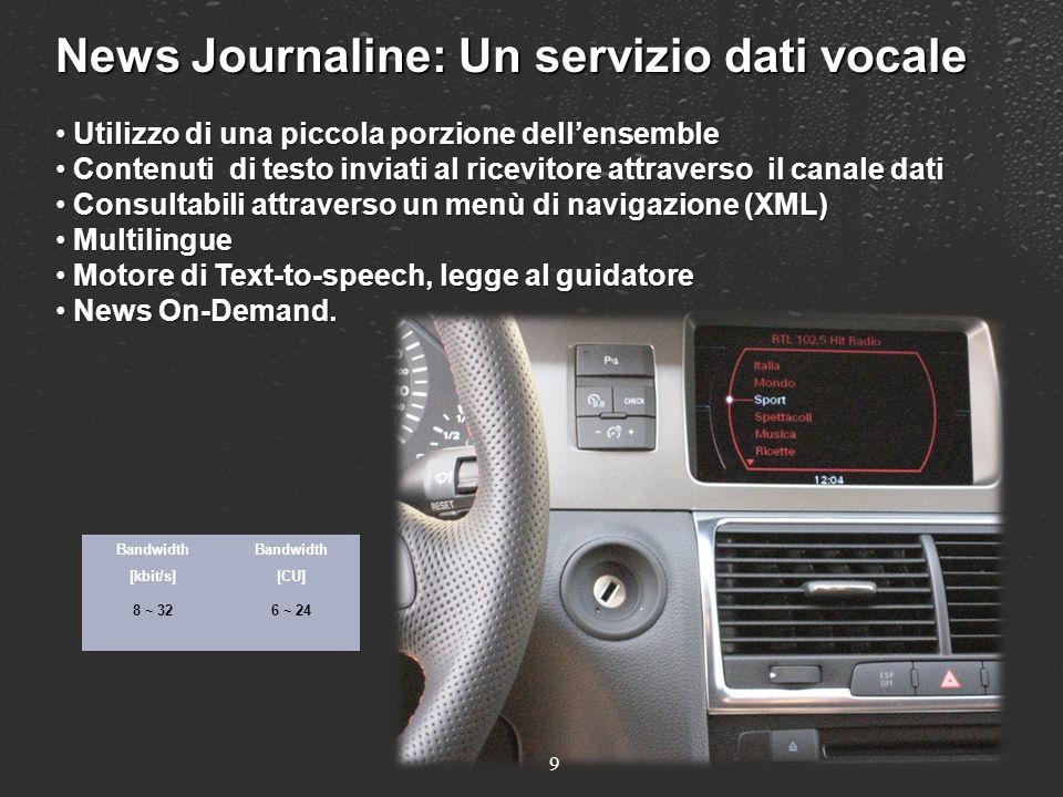 News Journaline: Un servizio dati vocale