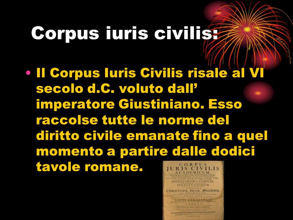 Corpus iuris civilis:
