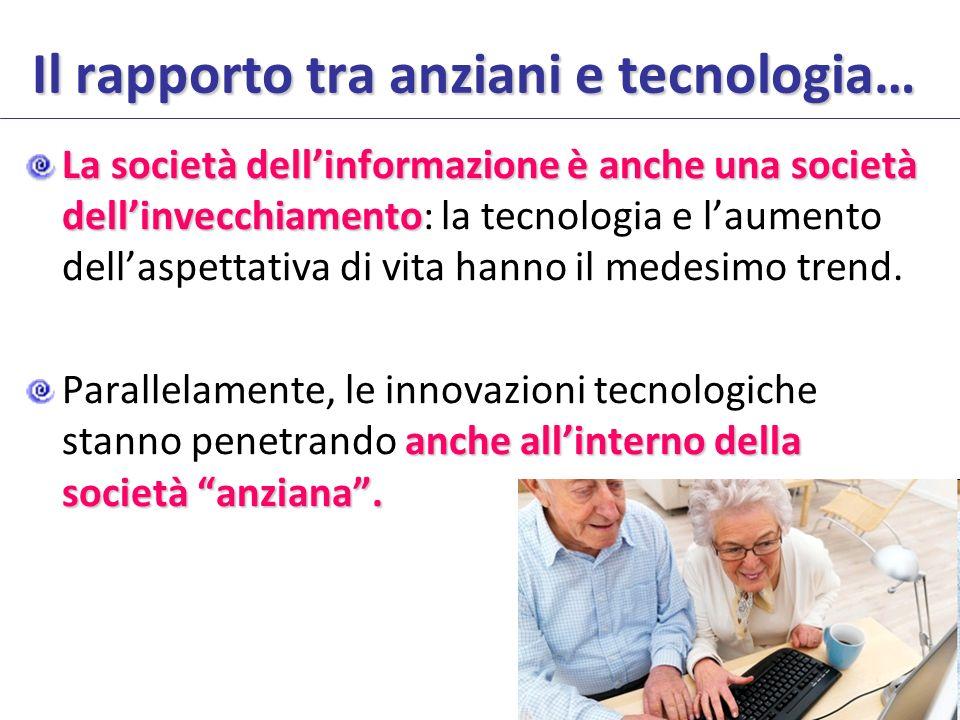 Il rapporto tra anziani e tecnologia…