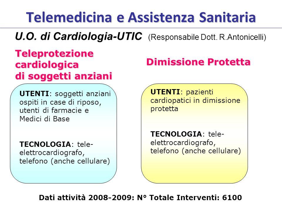 Telemedicina e Assistenza Sanitaria