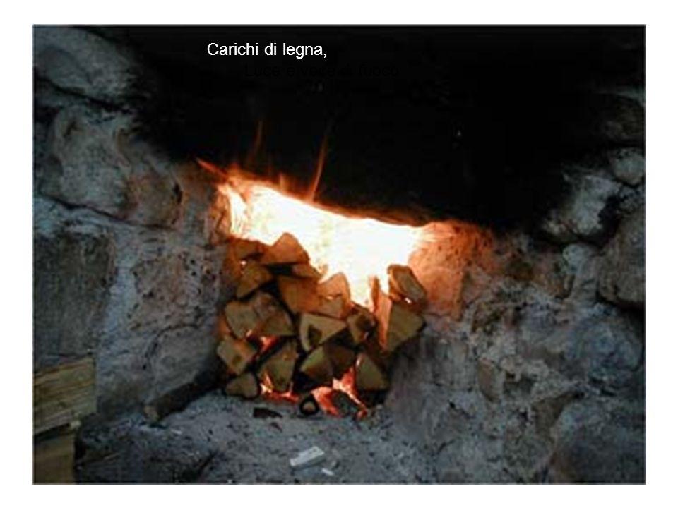 Carichi di legna, Luce e voce di fuoco
