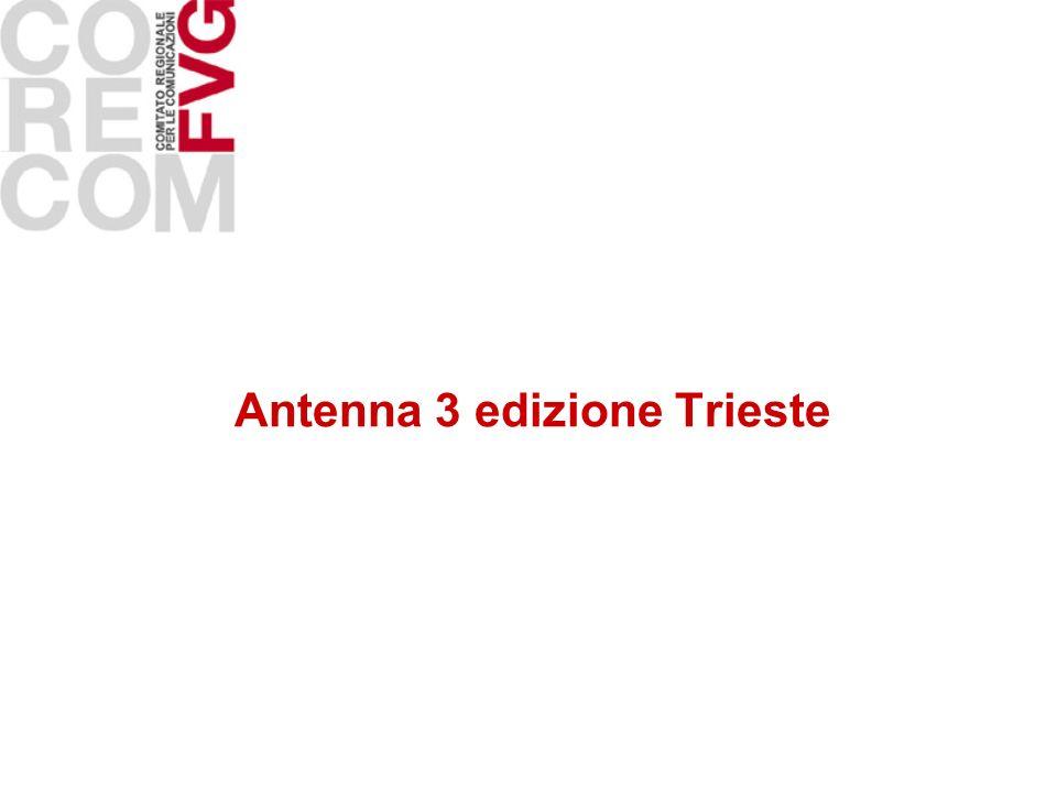 Antenna 3 edizione Trieste
