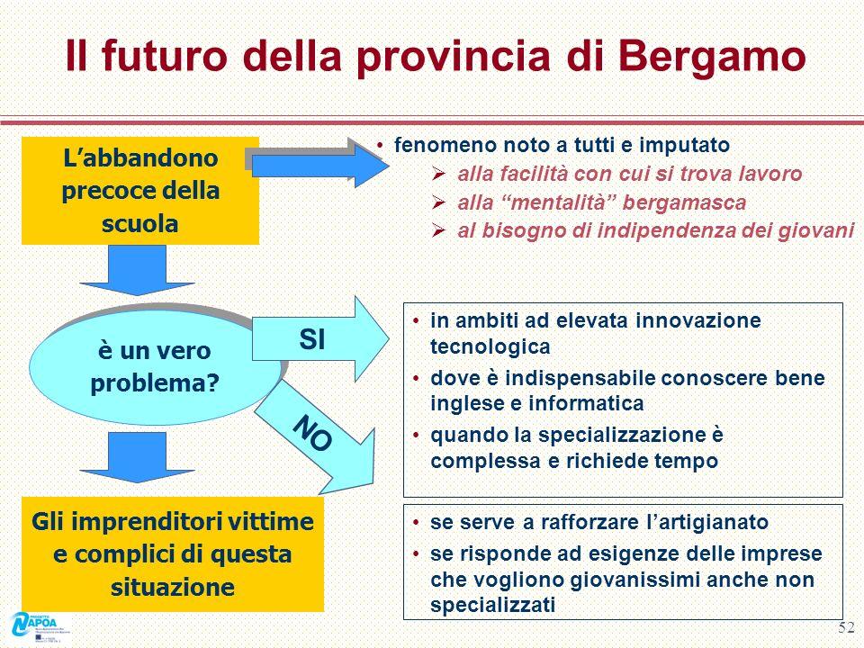 Il futuro della provincia di Bergamo