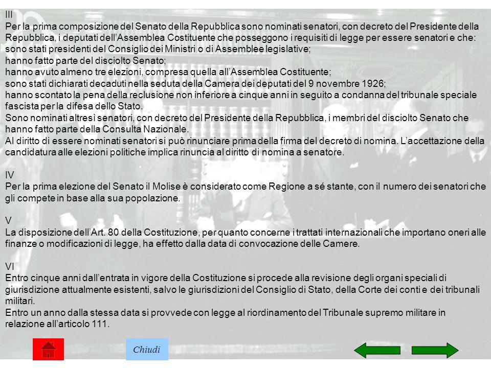 Costituzione della repubblica italiana ppt scaricare for Numero deputati senatori