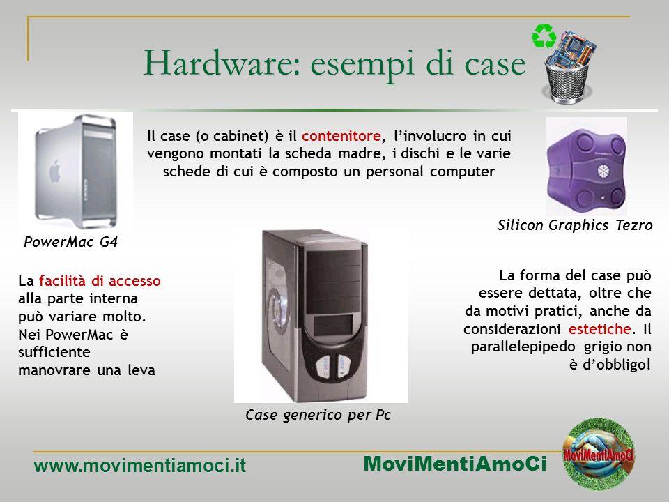 Hardware: esempi di case