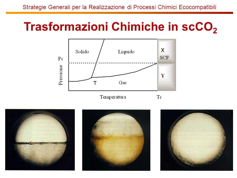 Trasformazioni Chimiche in scCO2