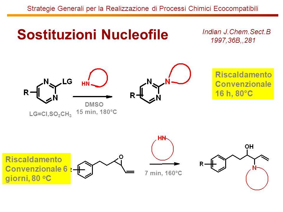 Sostituzioni Nucleofile