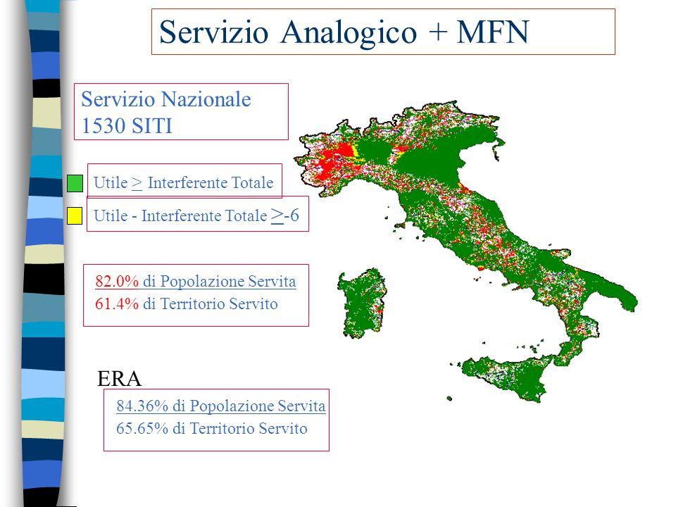 Servizio Analogico + MFN