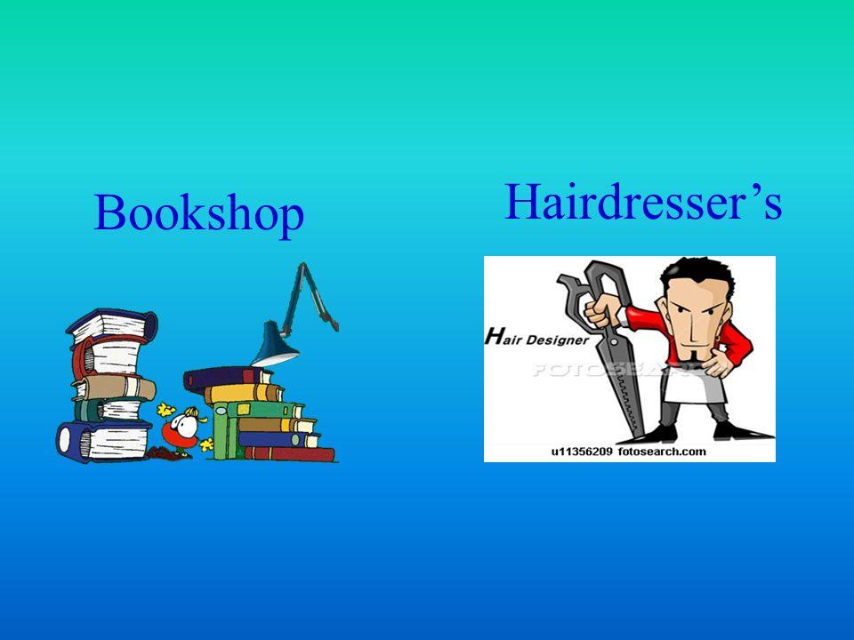 Bookshop Hairdresser's