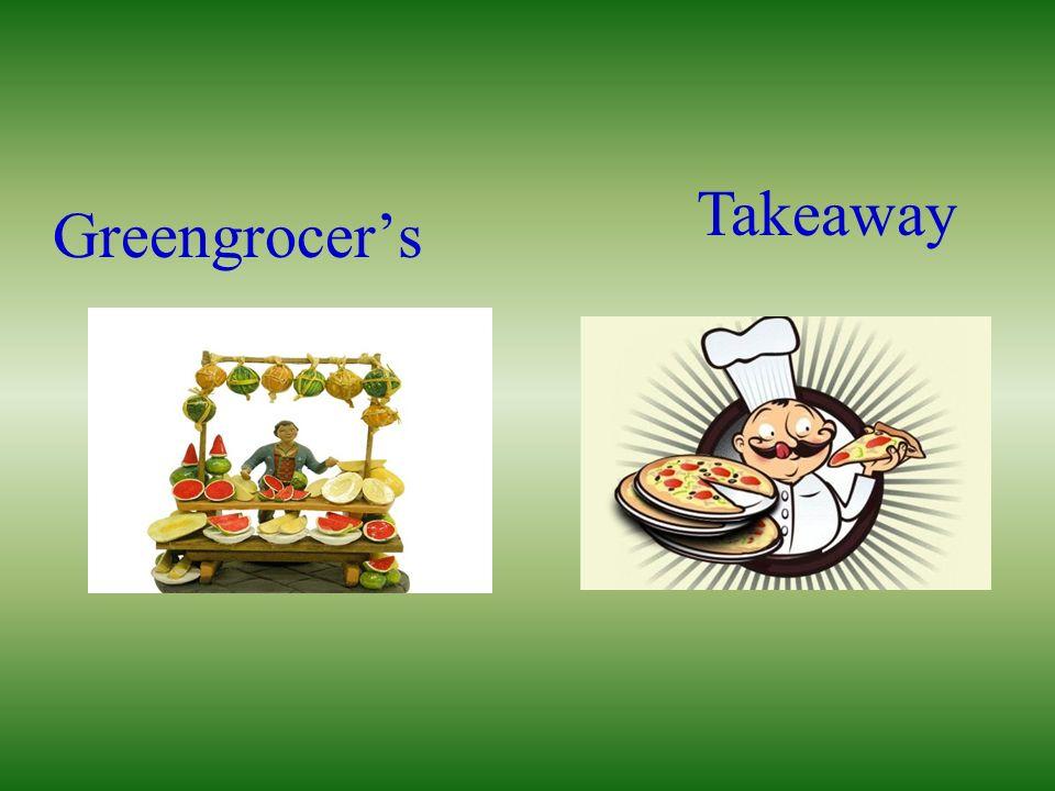 Takeaway Greengrocer's