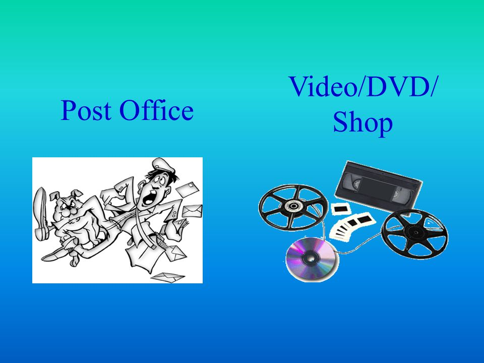 Video/DVD/ Shop Post Office