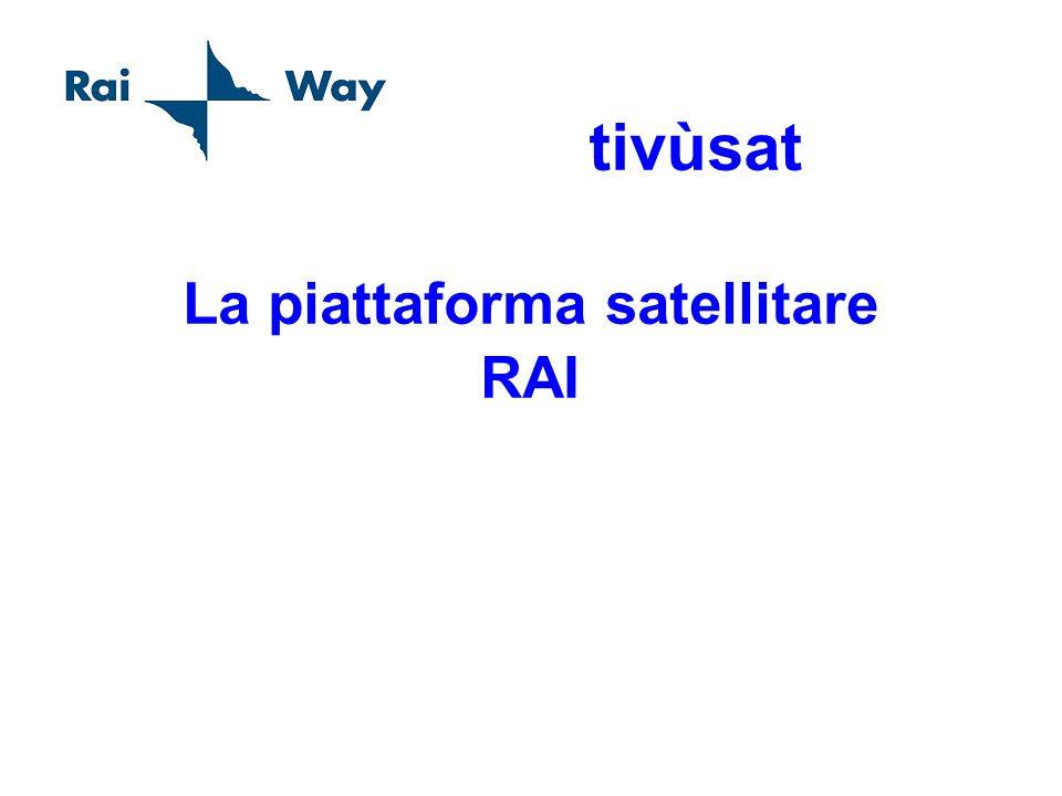 La piattaforma satellitare