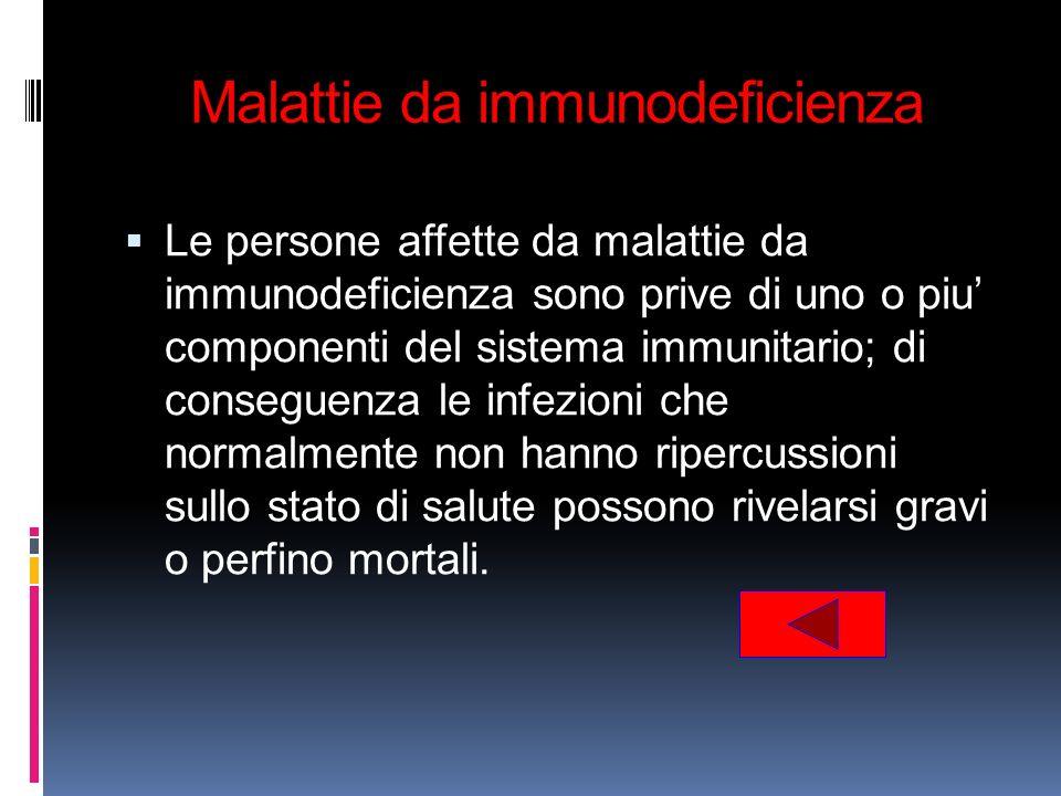 Malattie da immunodeficienza