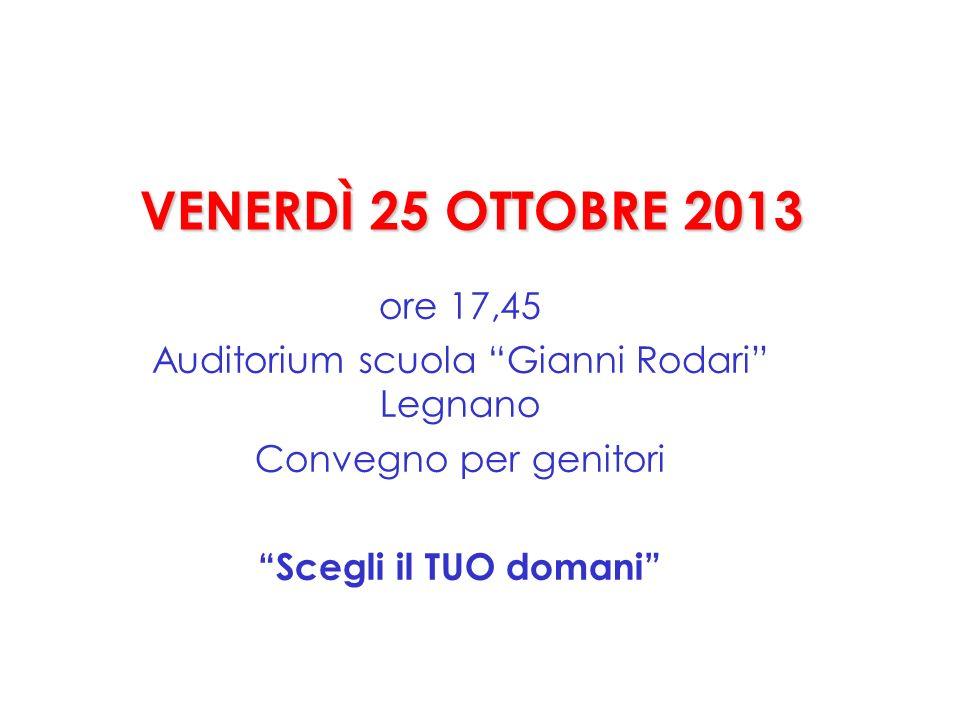 Auditorium scuola Gianni Rodari Legnano