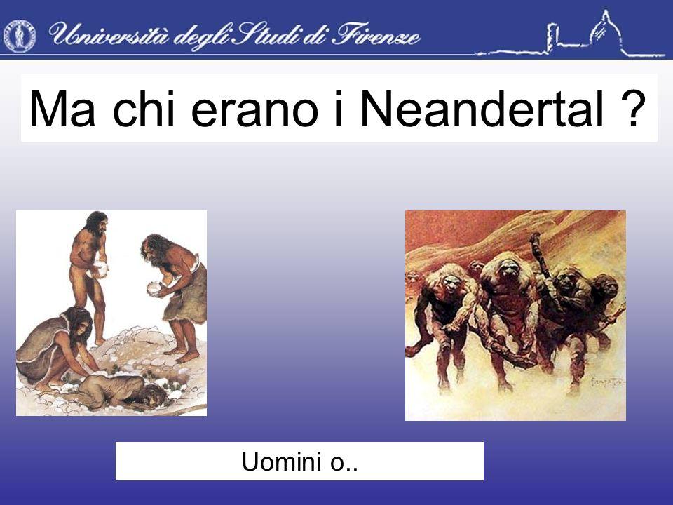Ma chi erano i Neandertal