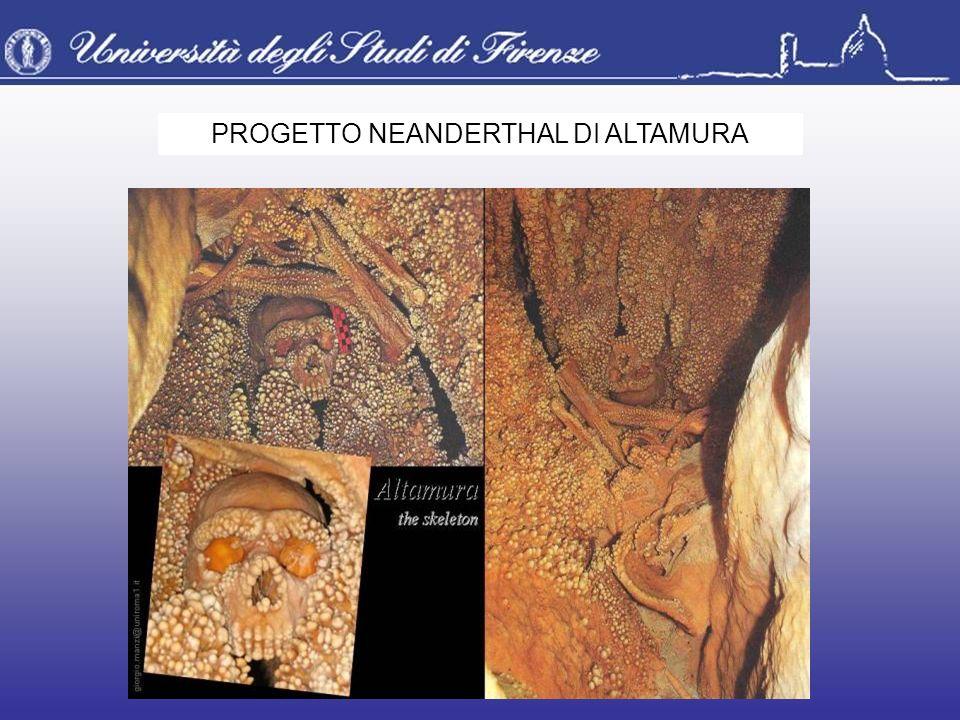 PROGETTO NEANDERTHAL DI ALTAMURA