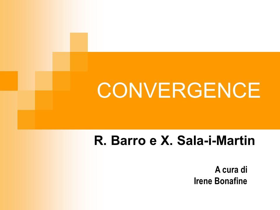 R. Barro e X. Sala-i-Martin