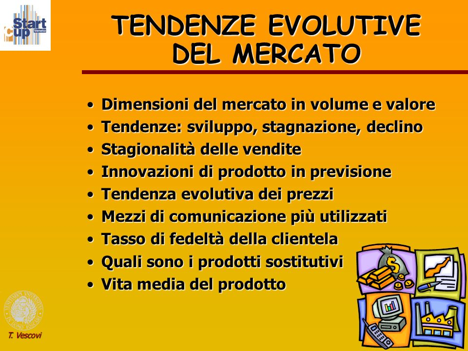 TENDENZE EVOLUTIVE DEL MERCATO