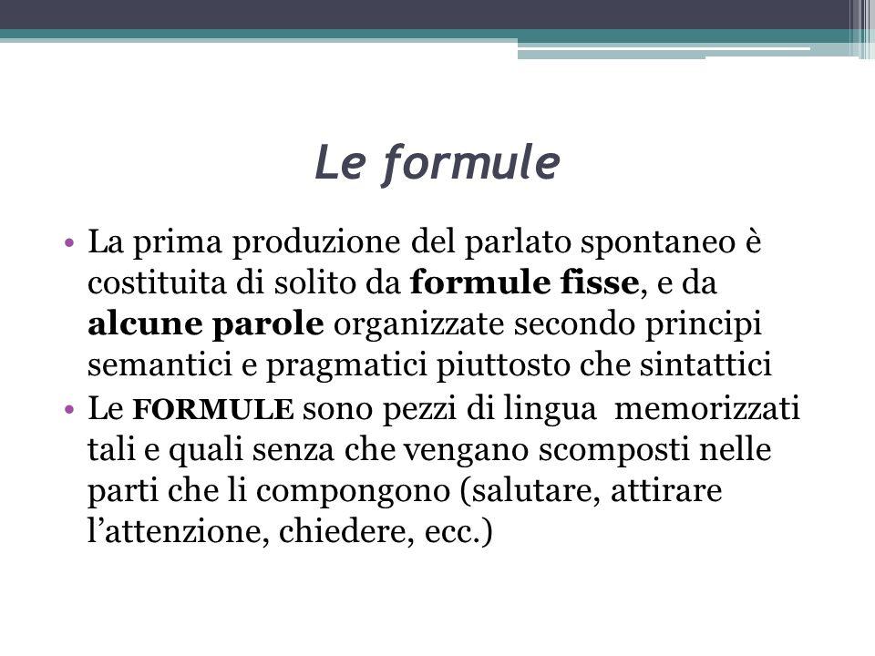 Le formule