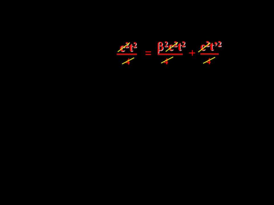 c2t2 b2c2t2 _ c2t'2 = + 4 4 4