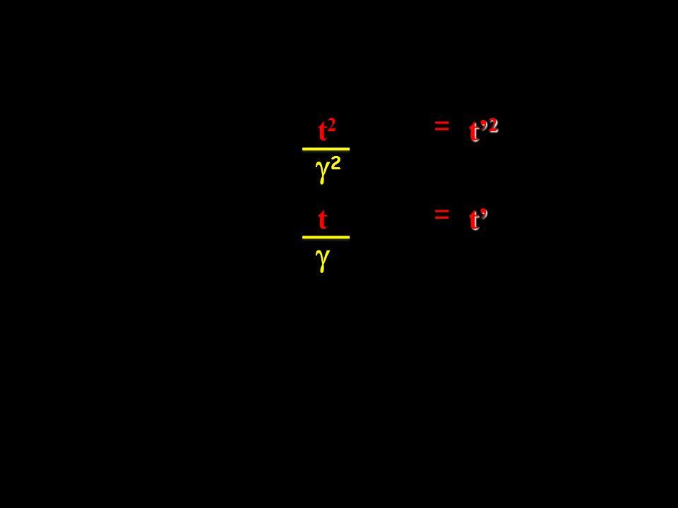 t2 = t'2 g2 t = t' g
