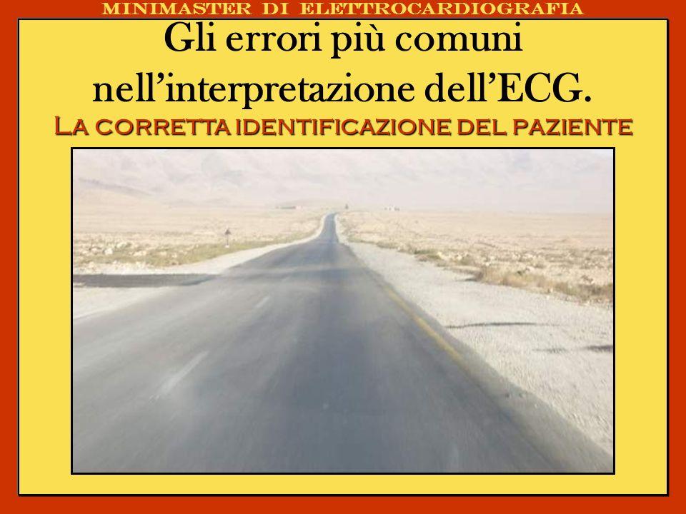 Gli errori più comuni nell'interpretazione dell'ECG.