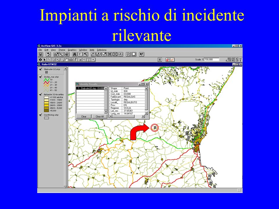 Impianti a rischio di incidente rilevante