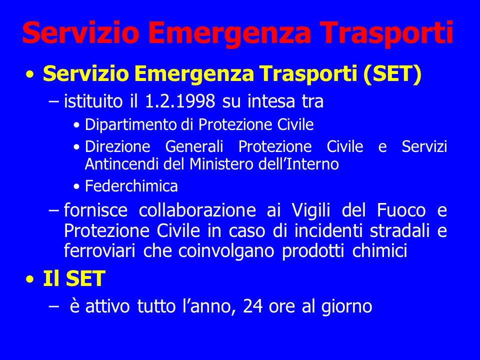 Servizio Emergenza Trasporti