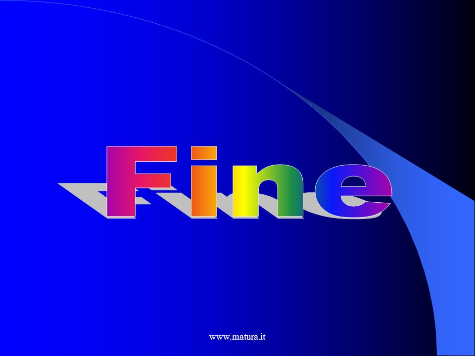 Fine www.matura.it