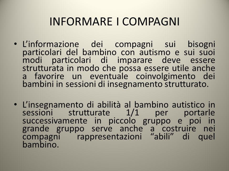 INFORMARE I COMPAGNI