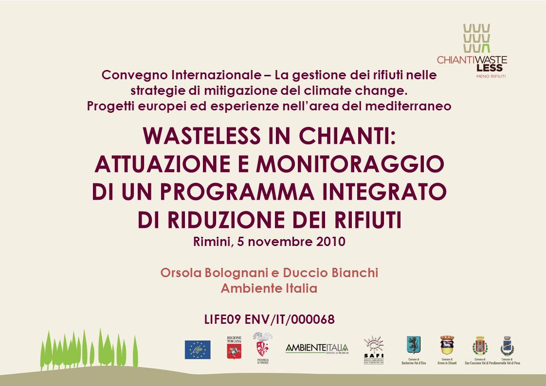 Convegno Internazionale – La gestione dei rifiuti nelle strategie di mitigazione del climate change.