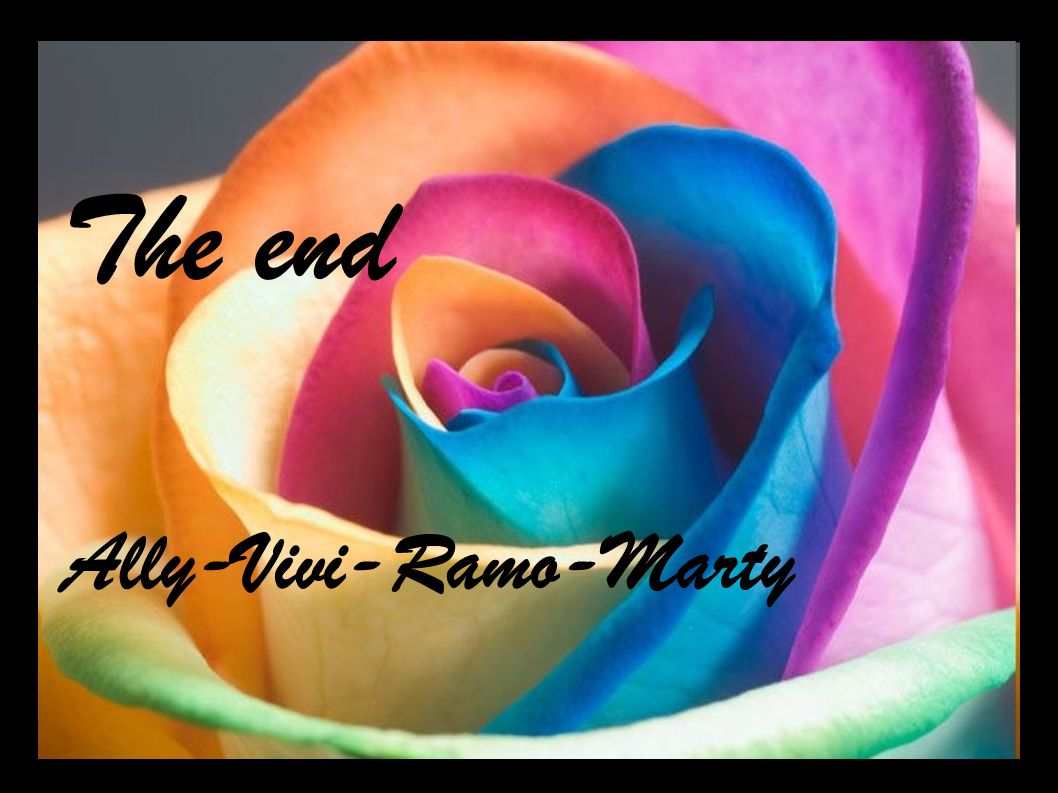 The end Ally-Vivi-Ramo-Marty