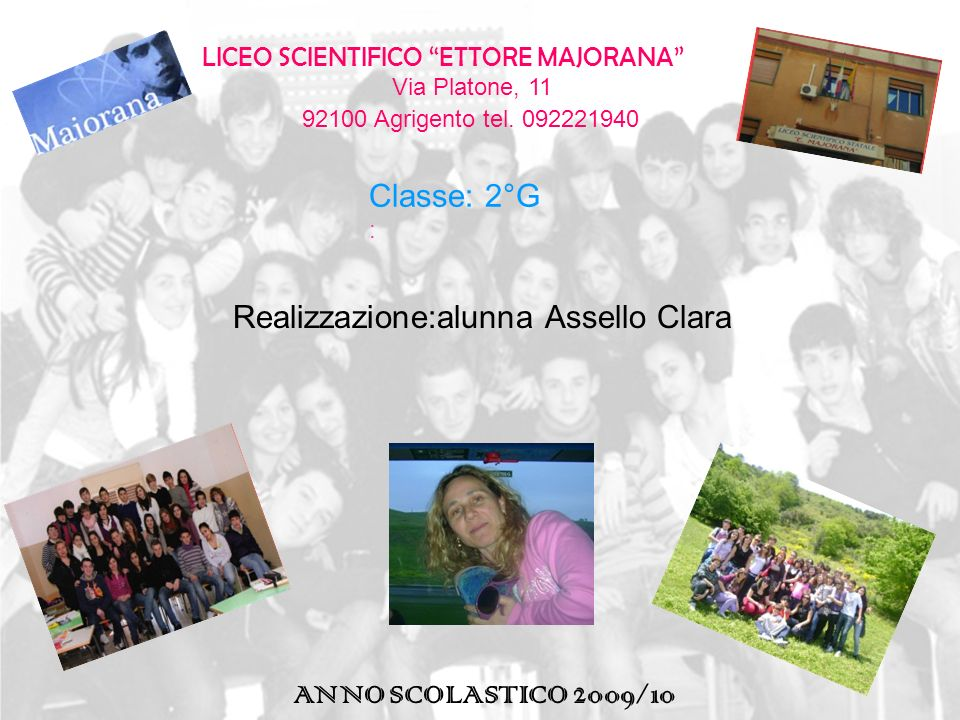 Via Platone, 11 92100 Agrigento tel. 092221940
