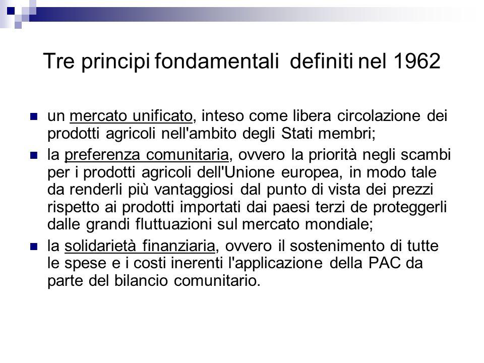 Tre principi fondamentali definiti nel 1962