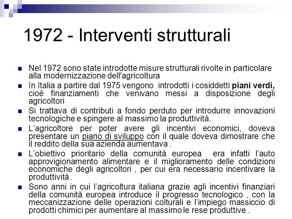 1972 - Interventi strutturali