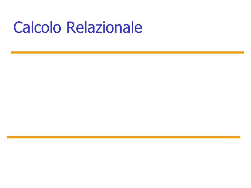 Calcolo Relazionale