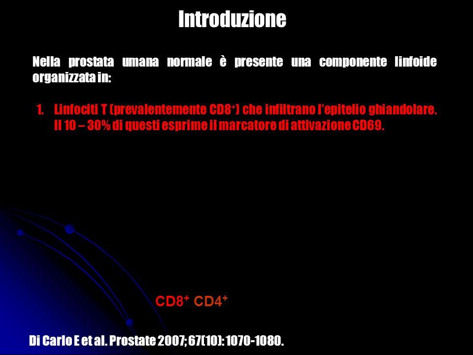 Introduzione CD8+/CD4+ CD69