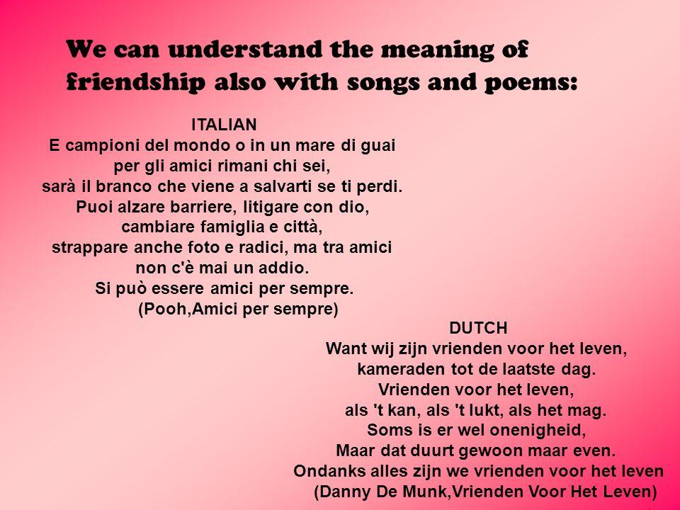 (Pooh,Amici per sempre) (Danny De Munk,Vrienden Voor Het Leven)