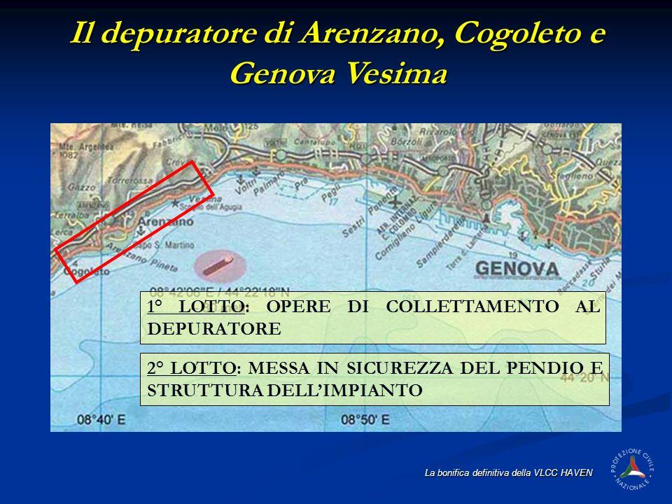 Il depuratore di Arenzano, Cogoleto e Genova Vesima