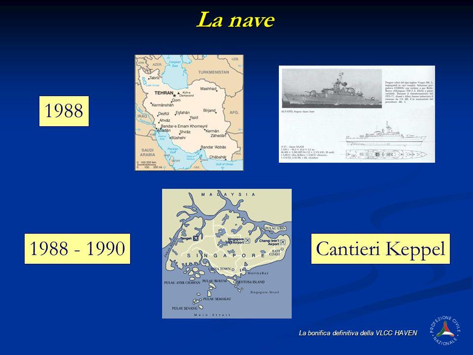 La nave 1988 1988 - 1990 Cantieri Keppel