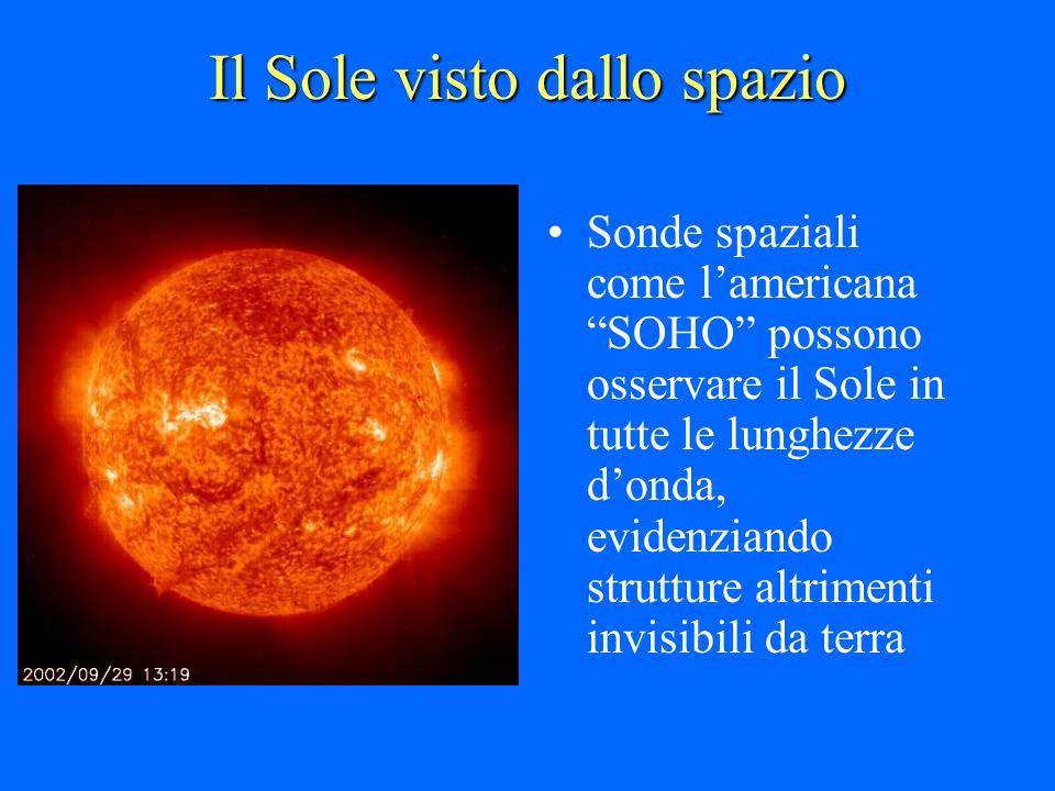 Il Sole visto dallo spazio