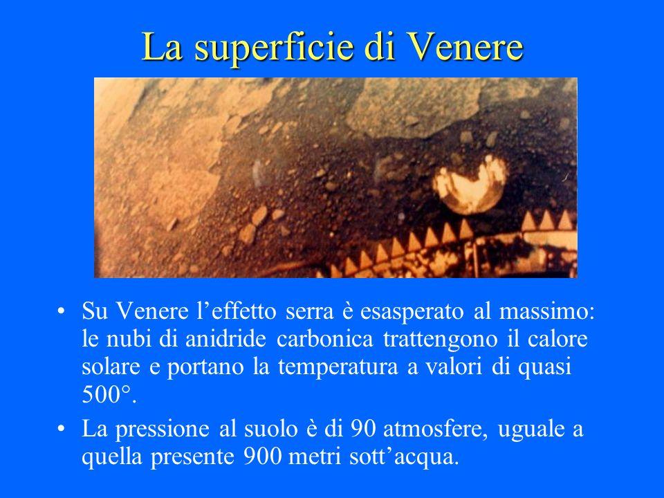 La superficie di Venere