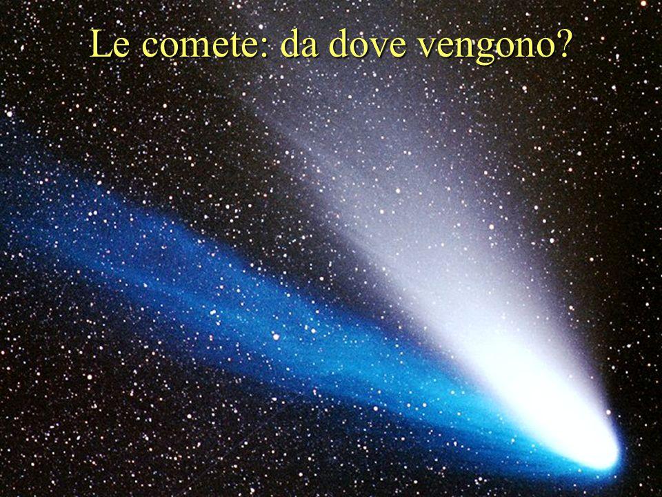 Le comete: da dove vengono