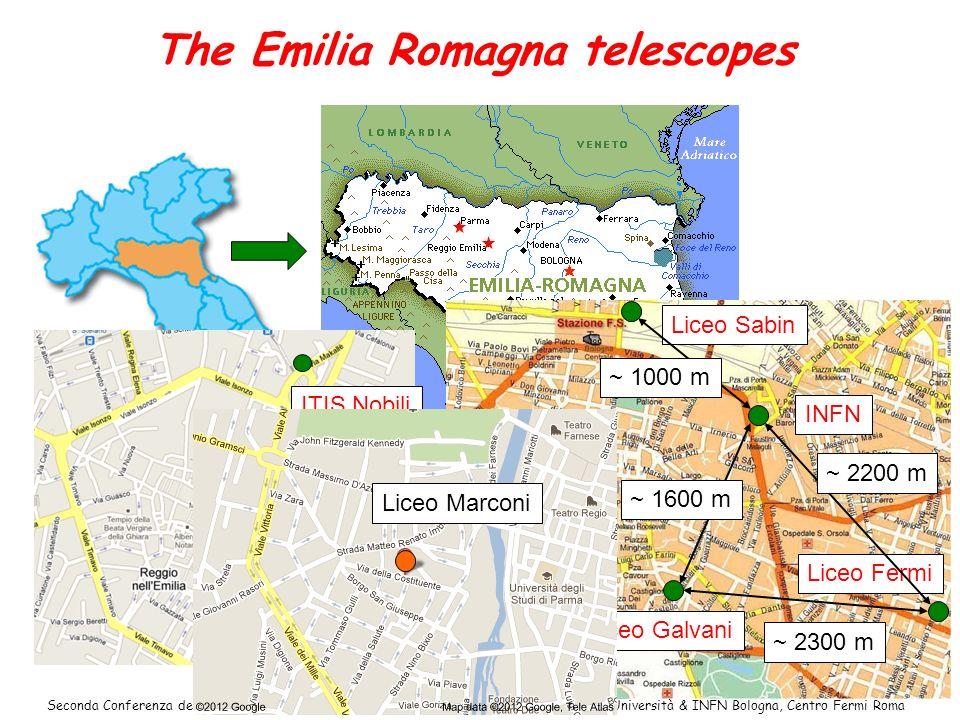 The Emilia Romagna telescopes