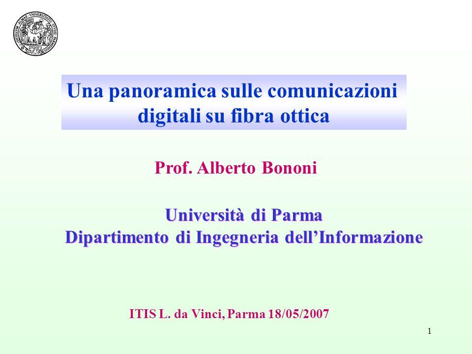 Una panoramica sulle comunicazioni digitali su fibra ottica