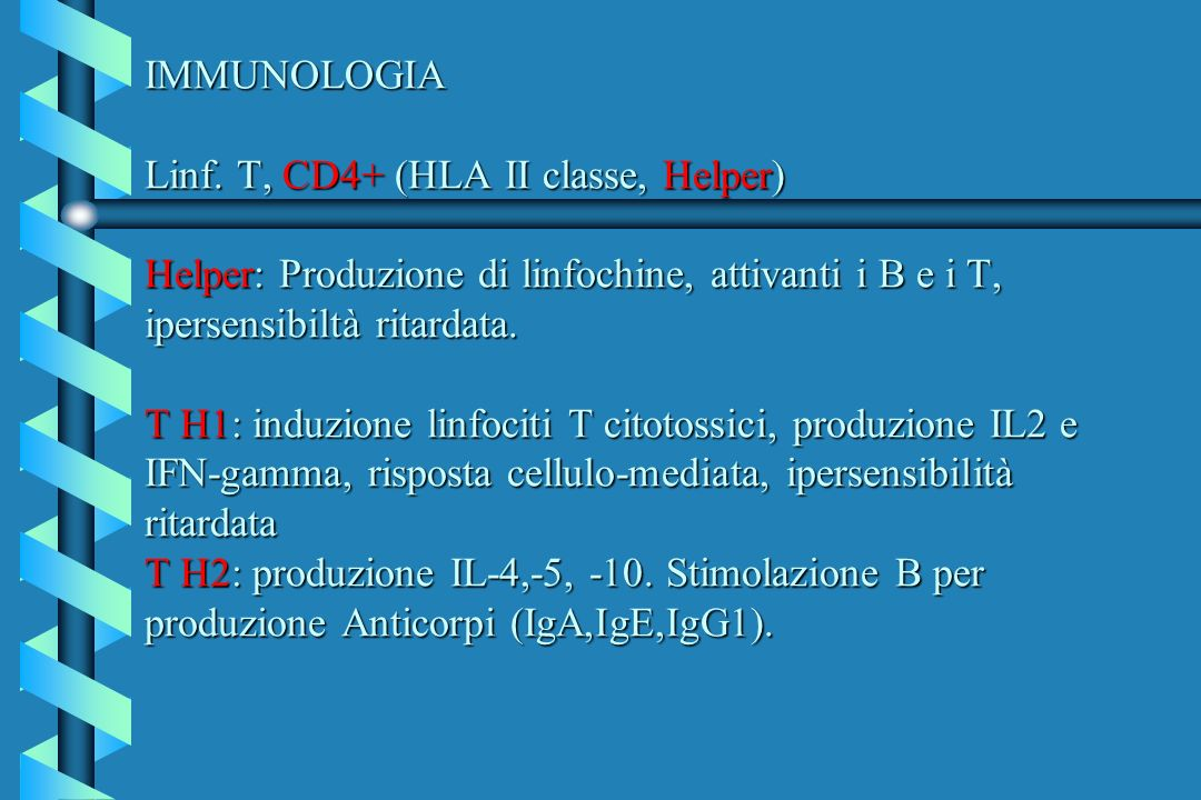 IMMUNOLOGIA Linf.