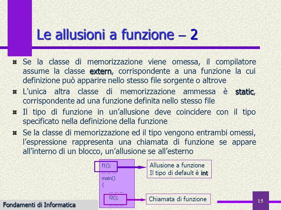 Le allusioni a funzione  2